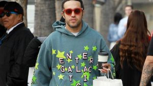 Pete Wentz Has Mastered the Coffee Run Fit