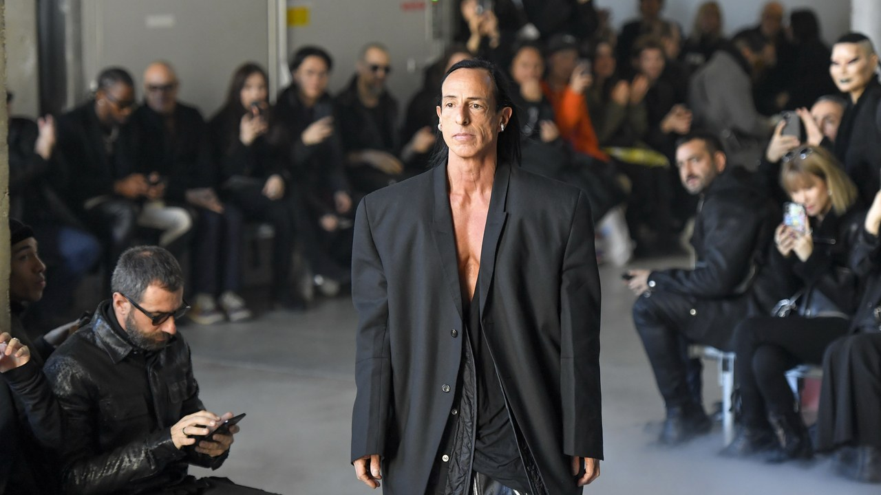 Rick Owens Paris Review: Performative Dressing Is the Wave