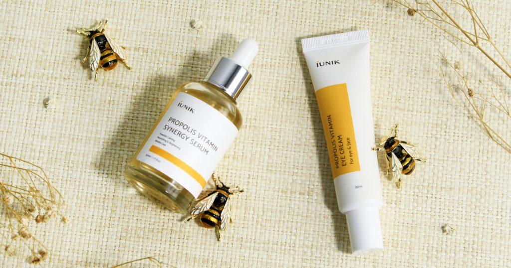 iUNIK's Propolis Vitamin Synergy Serum + Eye Cream Review – THE YESSTYLIST - Asian Fashion Blog