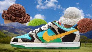 Nike SB x Ben & Jerry's Is 2020's Wackiest Sneaker Collab