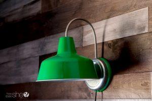 DIY Cheap Custom Barn Lights