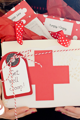 The Doctor Is In! A DIY Doctor's Kit to help your loved ones get well!