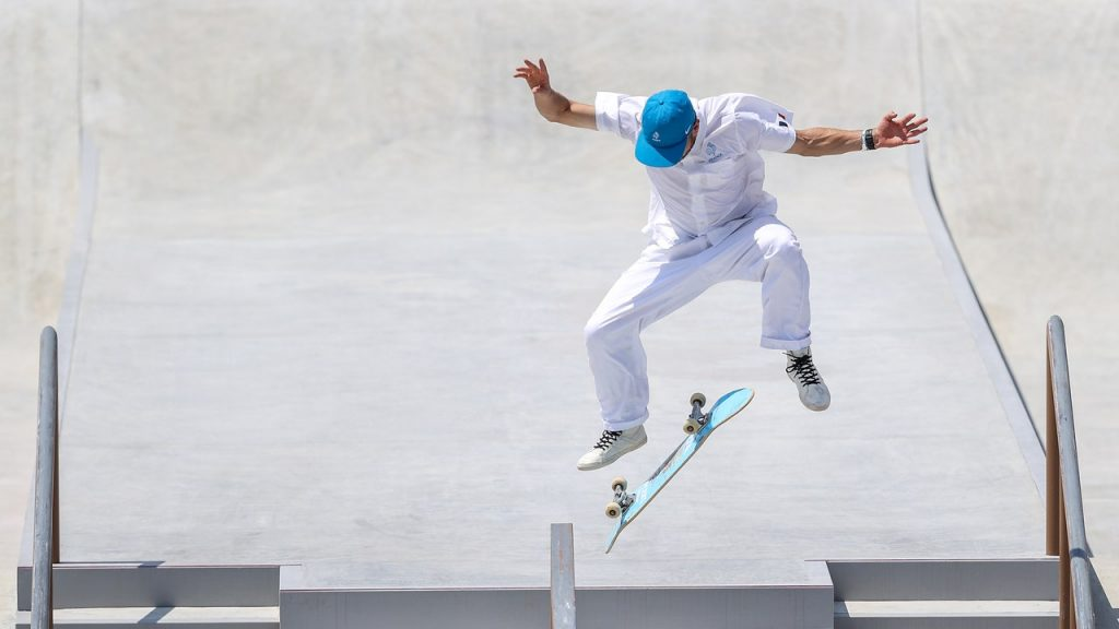 Of Course the Olympic Skateboarding Uniforms Are Cool