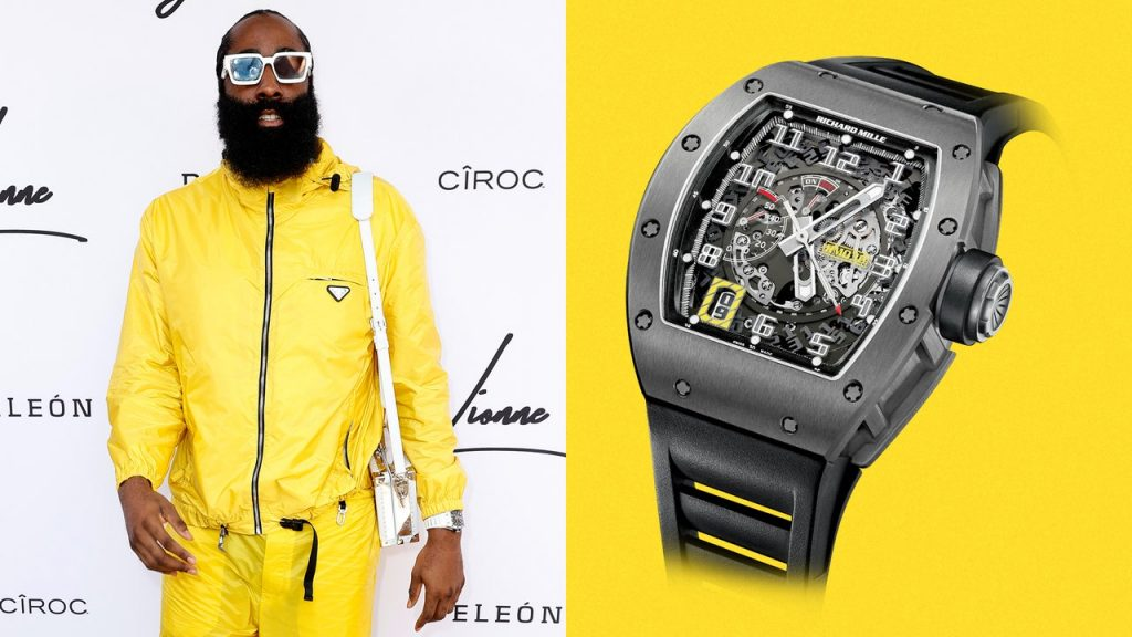 James Harden Made a Few Upgrades to This $70,000 Watch