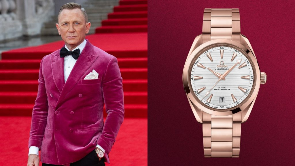 Daniel Craig Caps Off Run as Bond With Another Watch Fit for 007